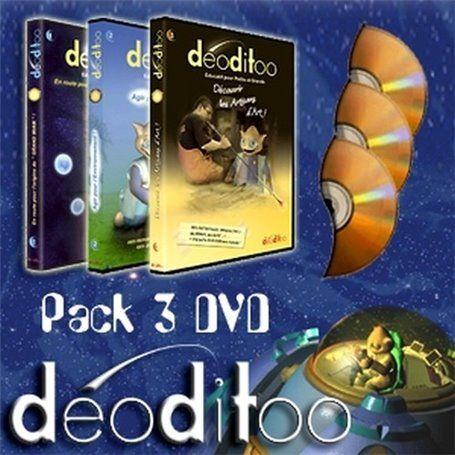 Deoditoo La Collection des 3 DVD Ludo-Educatifs Deoditoo - 1