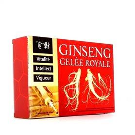 Gelée Royale Ampoules au Ginseng Tonus Vitalité Remise en Forme