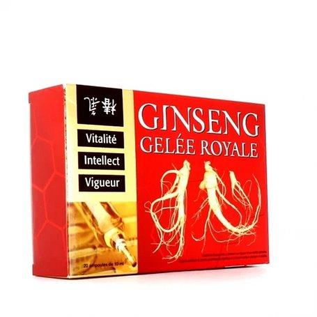 Gelée Royale Ampoules au Ginseng Tonus Vitalité Remise en Forme Ineldea - 2