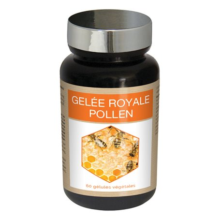 Gélules de Gelée Royale au Pollen Fortifiante Ineldea - 1