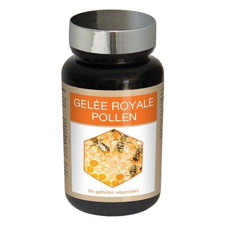 Gélules de Gelée Royale au Pollen Fortifiante Nutriexpert - 1