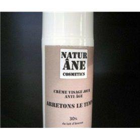 Crème de Jour Arrêtons le Temps au Lait d'Anesse - 30 ml - 30 %