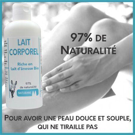 Lait Hydratant au Lait d'Anesse - 200 ml - 20 %