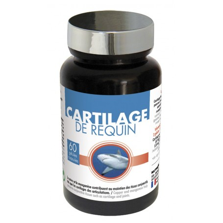Cartilage de Requin Gélules Muscles et Articulations