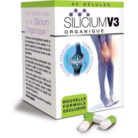 Silicium Organique V3 Gélules pour les Articulations et la Solidité des Os Nutriexpert - 6