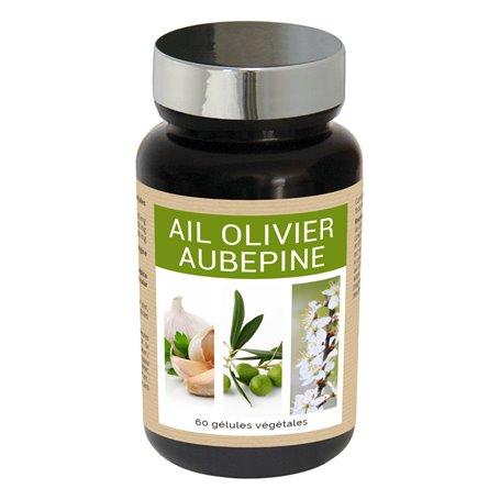 Ail Olivier Aubépine Taux de Cholestérol Nutriexpert - 1