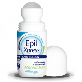 Epil Xpress Roll-On Care Femme Prévention et Traitement des Poils Incarnés