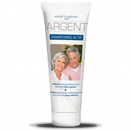 Argent Shampooing Actif Cheveux Gris Institut Claude Bell - 2