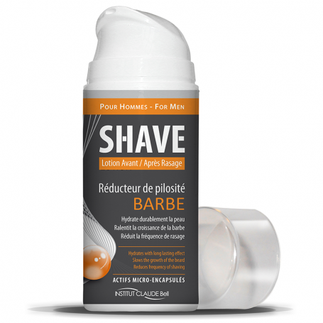 Shave Réducteur de Pilosité pour Barbe et Crâne Institut Claude Bell - 2