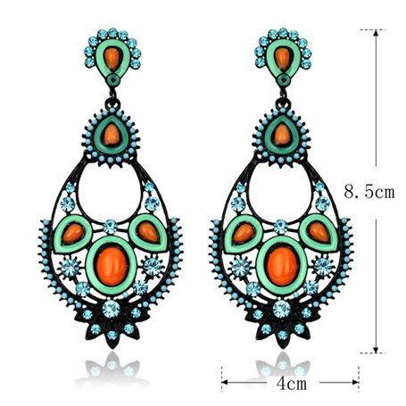 Boucles d'Oreilles Fantaisie Jing Ling - 1
