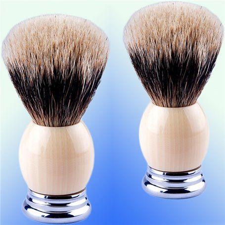 Brosse de Rasage Ivoire CZM Cosmetics - 1