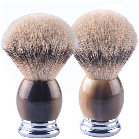 Brosse de Rasage Ocre CZM Cosmetics - 1