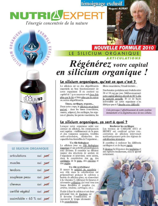 Silicium Organique V3 Gélules pour les Articulations et la
