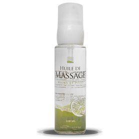 Huile de Massage aux Huiles Essentielles - Lemongras