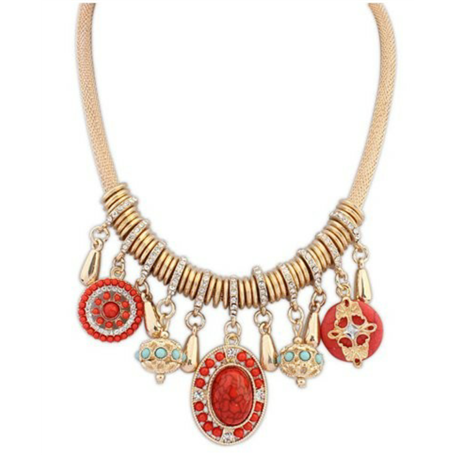 Collier Fantaisie Jing Ling - 5