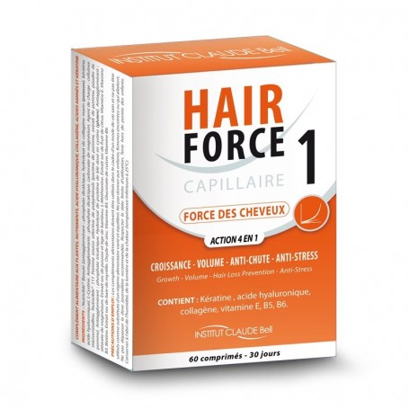 Hair Force One Complément Alimentaire Capillaire Anti-Chute Institut Claude Bell - 4