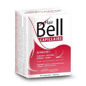 Hairbell Complément Alimentaire Capillaire Accélérateur de Pousse