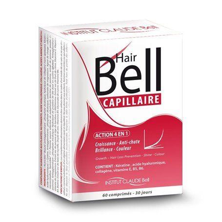 Hairbell Complément Alimentaire Capillaire Accélérateur de Pousse Institut Claude Bell - 4