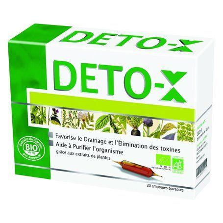Deto-X Bio Détoxifiant Purificateur Naturel Ineldea - 1
