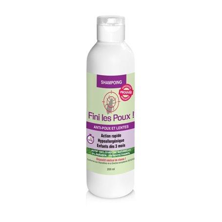 Fini Les Poux Shampooing Dispositif Médical Classe I Nutriexpert - 1