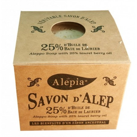 Savon d'Alep Tradition 25% Laurier Alepia - 1
