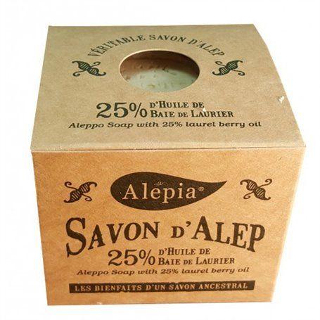 Savon d'Alep Tradition 25% Laurier Alepia - 1