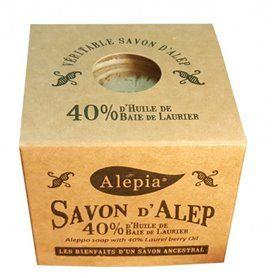 Savon d'Alep Tradition 40% Laurier