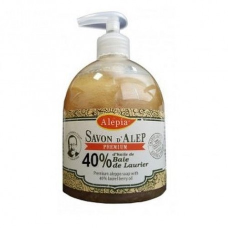 Savon d'Alep Liquide Premium 40% Laurier Alepia - 1