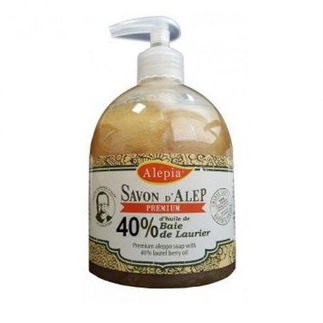 Savon d'Alep Liquide Premium 40% Laurier