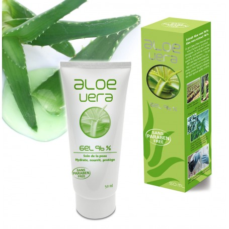 Gel Aloe Vera Hydrate et Apaise la Peau Ineldea - 1