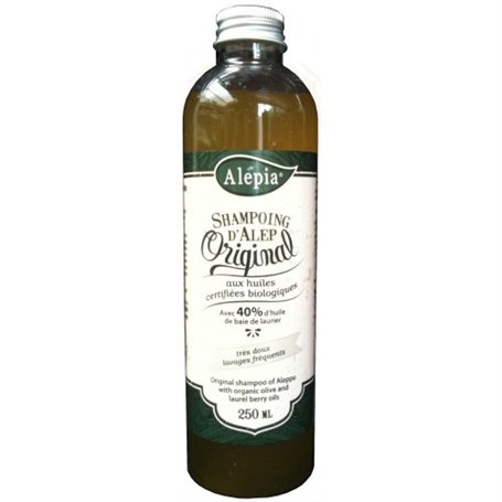 No-poo Aleppo Shampoo Original 40% Laurel Oil Alepia - 1