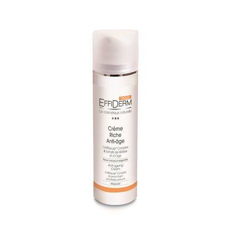 Effiderm Crème Riche Anti-Age Nutriexpert - 1