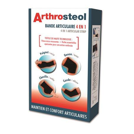 ArthroSteol Bande Articulaire 4 en 1 Protection et Mobilité Articulaire Nutriexpert - 1