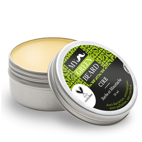 Hydrating Wax for The Beard and Moustache My Green Beard - 1