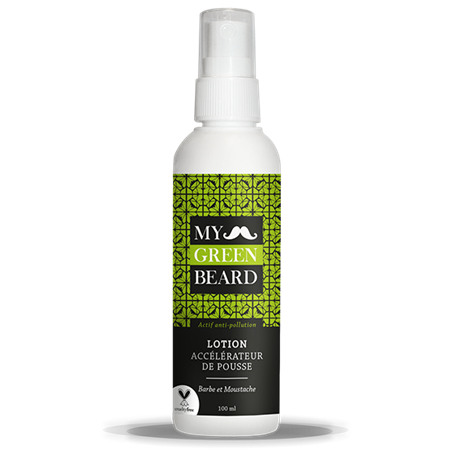 Beard Growth Accelerator Lotion My Green Beard - 1