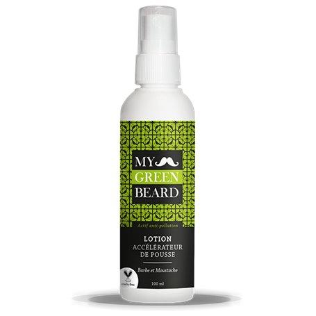Lotion Accélérateur de Pousse pour Barbe et Moustache My Green Beard - 1