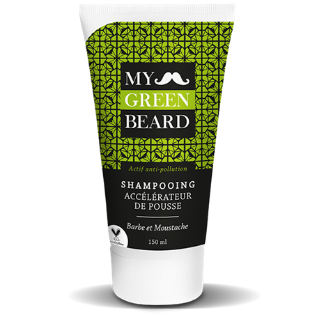 Beard Growth Accelerator Shampoo My Green Beard - 1