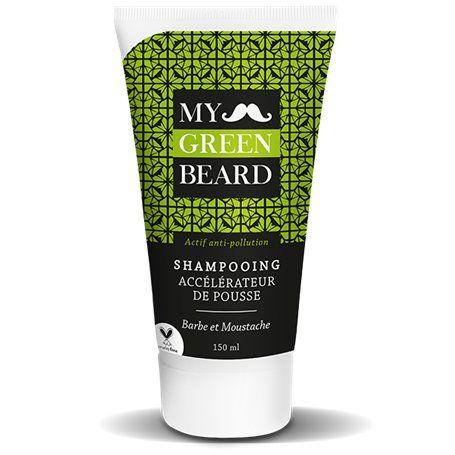 Shampooing Accélérateur de Pousse pour Barbe et Moustache My Green Beard - 1
