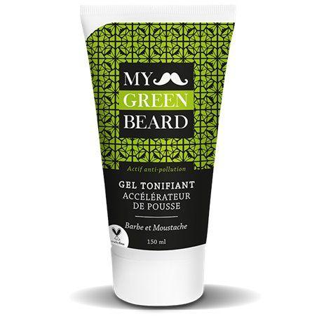 Gel Tonifiant Accélérateur de Pousse pour Barbe et Moustache My Green Beard - 1