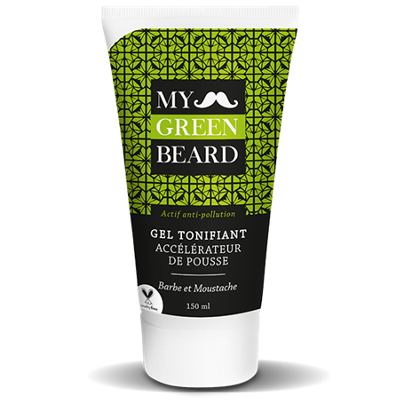 Gel Tonifiant Accélérateur de Pousse pour Barbe et Moustache