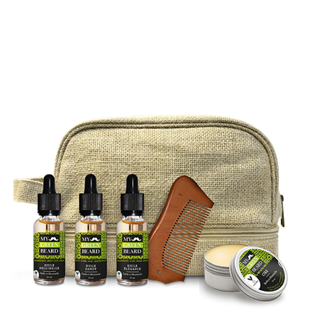 Beard Oils and Wax Kit My Green Beard - 1