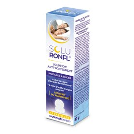 SoluRonfl Pastilles Ronflements Nocturnes 15 Pastilles