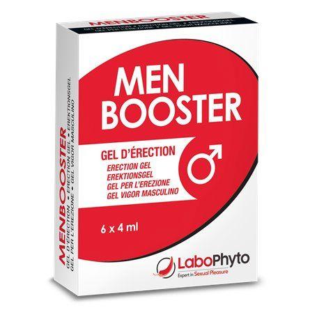 Men Booster Gel d'Erection Sachets Labophyto - 1