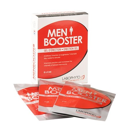 Men Booster Gel d'Erection Sachets Labophyto - 1