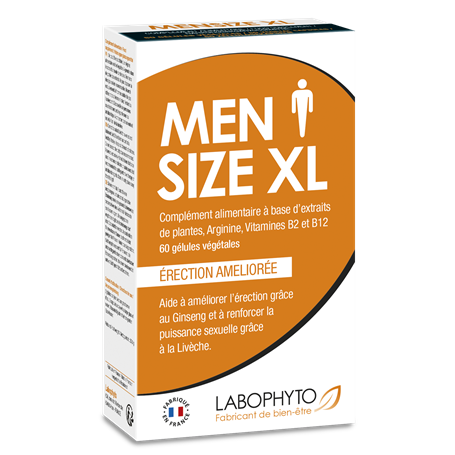 Men Size XL Perf Sexuelle Labophyto - 1