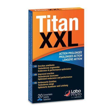 Titan XXL Action Prolongee Labophyto - 1
