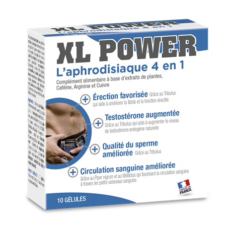 XL Power Aphrodisiaque 10 Labophyto - 1