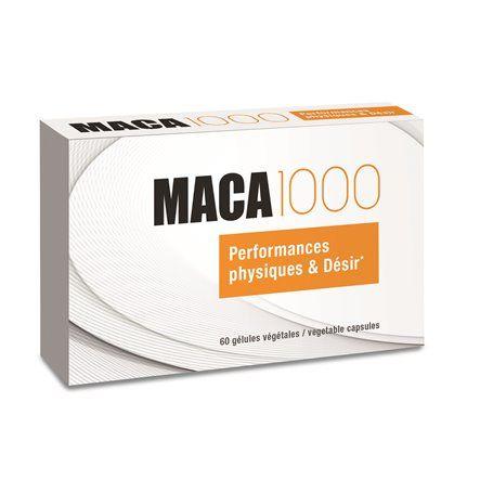 Maca 1000 Endurance Sexuelle Performances Physiques et Désir