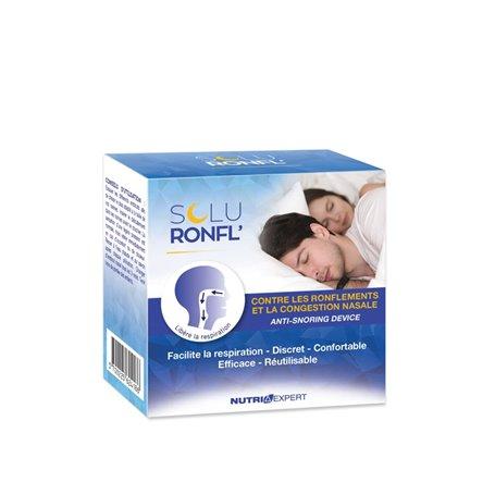 SoluRonfl Pastilles Ronflements Nocturnes 30 Pills Nutriexpert - 1
