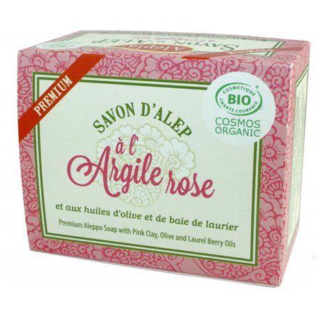 Savon d'Alep Premium à l'Argile Rose Alepia - 1